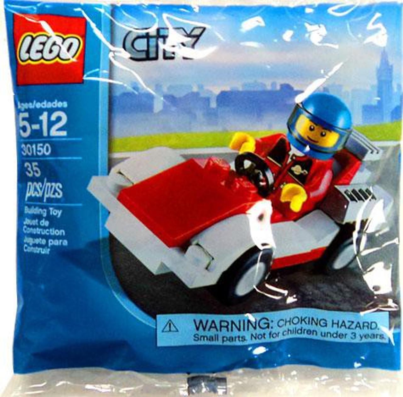 Lego City Race Car Mini Set 30150 Bagged Toywiz