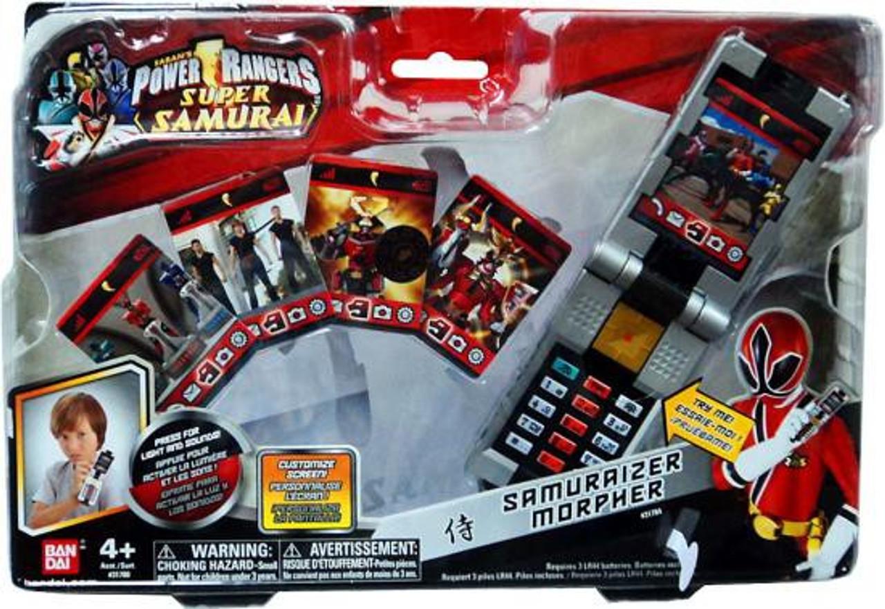 Power Rangers Super Samurai Samuraizer Morpher Roleplay ...