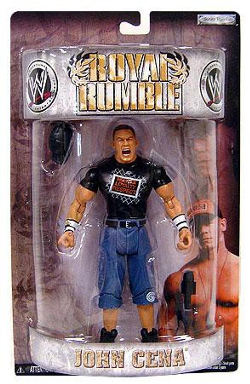 WWE Wrestling Pay Per View Royal Rumble 2008 John Cena ...