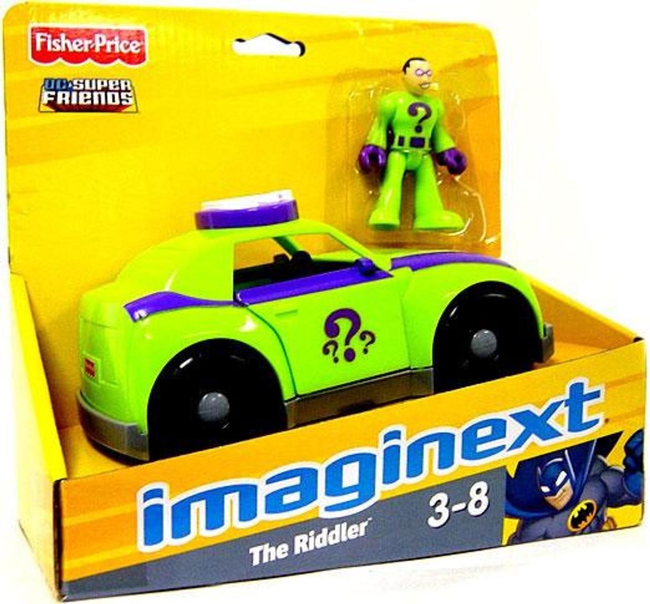 Imaginext® The Riddler Hot Rod & Green Lantern Jet ... |Imaginext Riddler