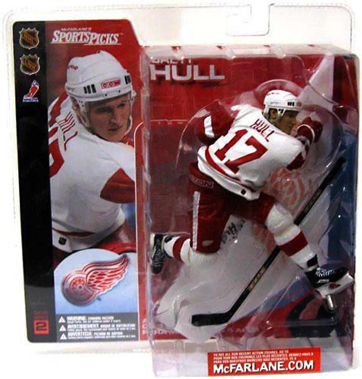 brand new 9c3b9 5e160 McFarlane Toys NHL Detroit Red Wings Sports Picks Series 2 Brett Hull  Action Figure