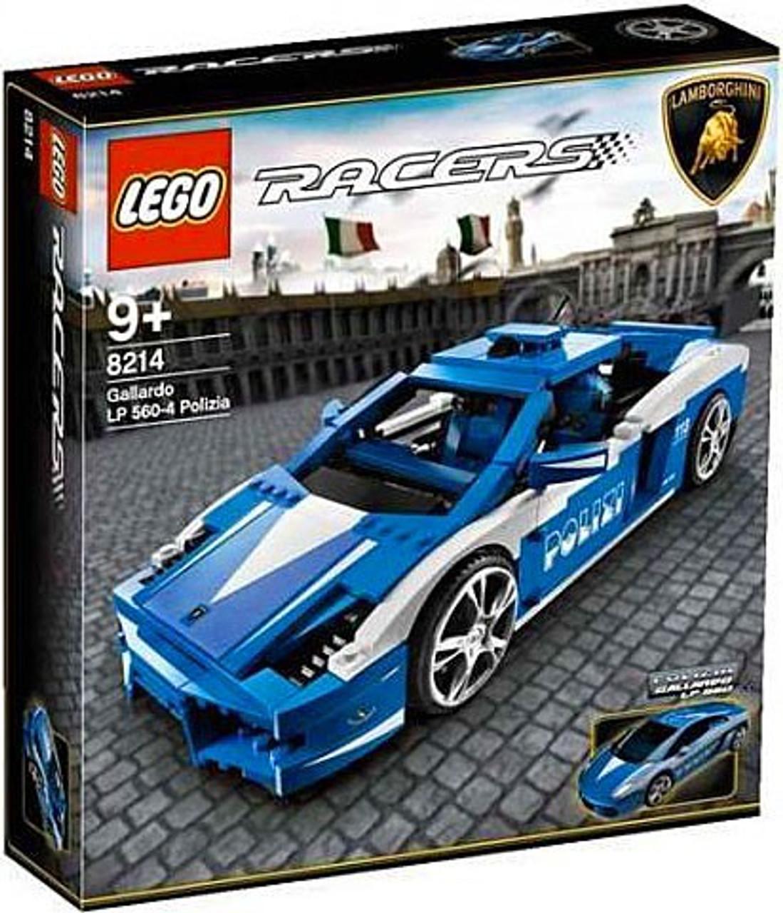 LEGO Racers Police Lamborghini Gallardo Exclusive Set 8214