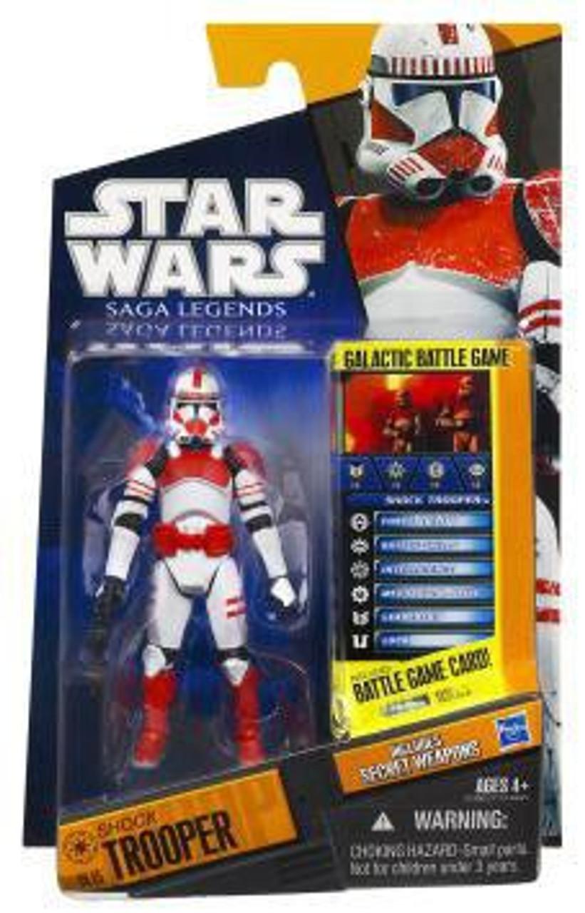Star Wars Order 66 Commander Thire loose figure 30th Anniversary Shock Trooper