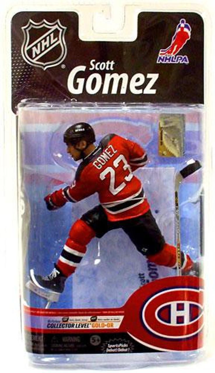 McFarlane Toys NHL New Jersey Devils Sports Picks Series 25 Scott Gomez  Exclusive Action Figure fb18595c7