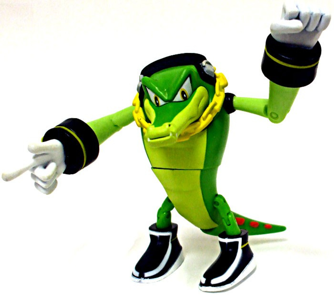 Sonic The Hedgehog Vector The Crocodile 3 5 Action Figure Loose Jazwares Toywiz