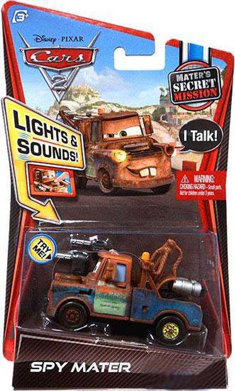 Disney Pixar Cars Cars 2 Lights Sounds Spy Mater Exclusive 155