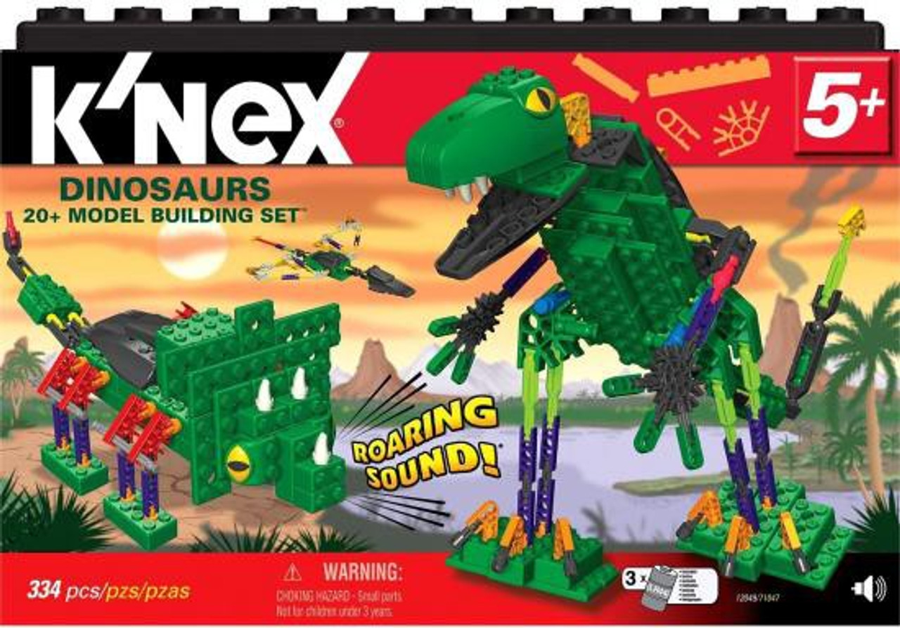 KNex Dinosaurs Set 12049 - ToyWiz