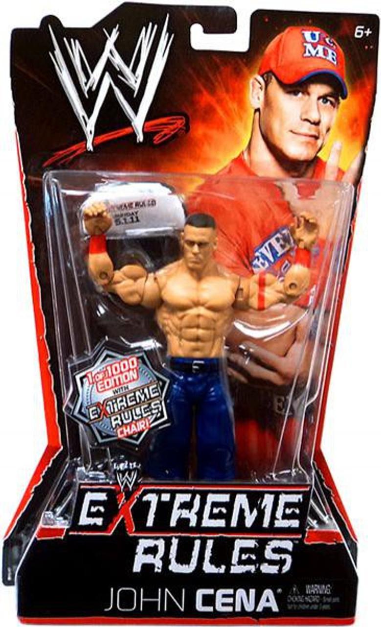 Damaged Package WWE Wrestling Series 82 John Cena Action Figure