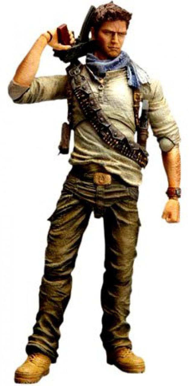 Uncharted 3 Play Arts Kai Series 1 Nathan Drake Action Figure