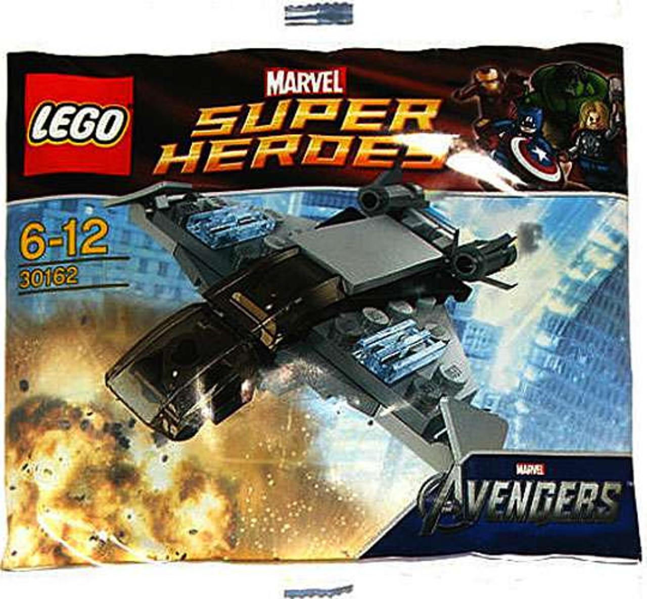 Bagged LEGO Super Heroes The Avengers Quinjet Set 30304