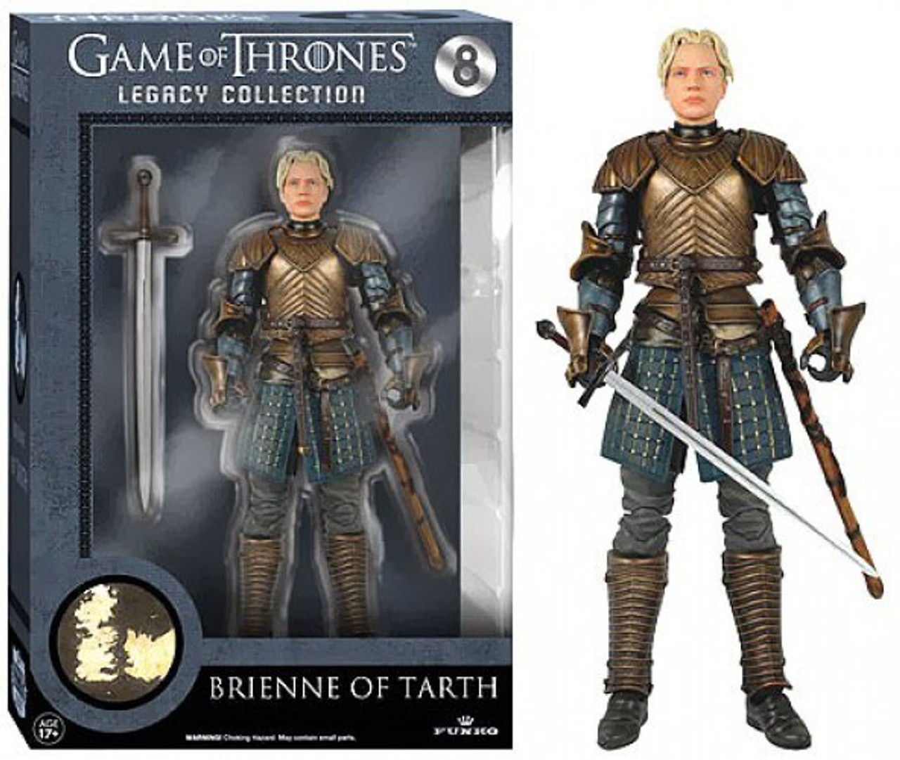 Game of Thrones Brienne of Tarth 7.5-Inch Statue Figure