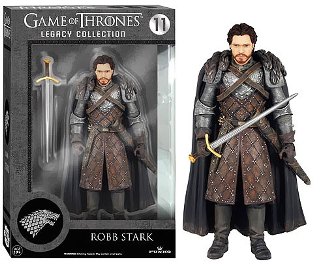 Funko Legacy Action Robb Stark Action Figure Game of Thrones Series 2
