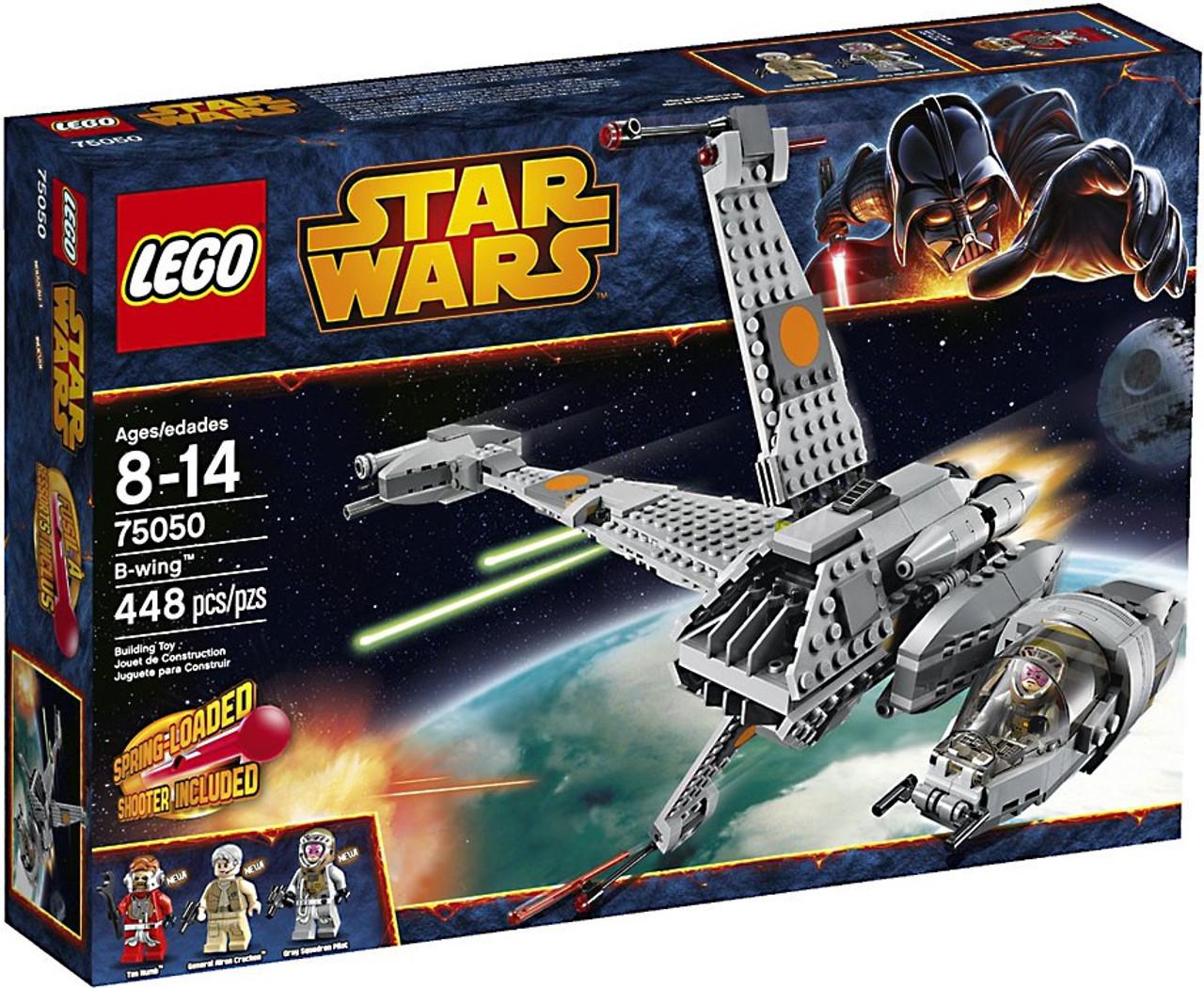 14e0bd342d98 LEGO Star Wars Return of the Jedi B-Wing Set 75050 - ToyWiz
