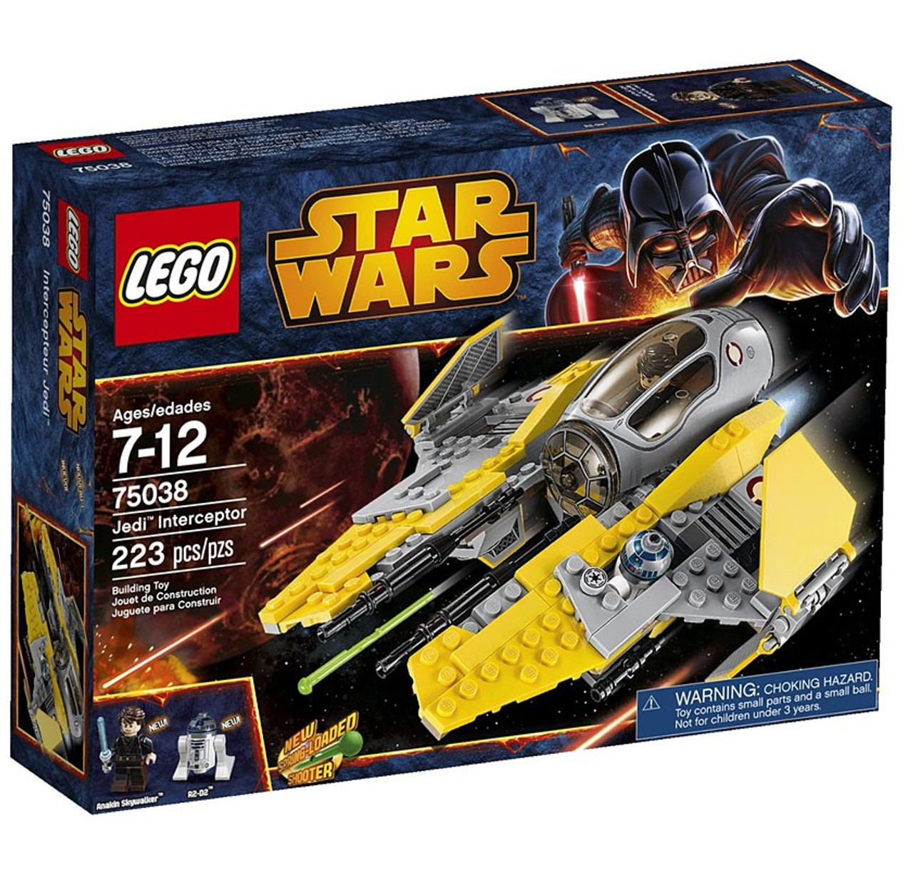 Lego Star Wars Revenge Of The Sith Jedi Interceptor Set 75038 Toywiz