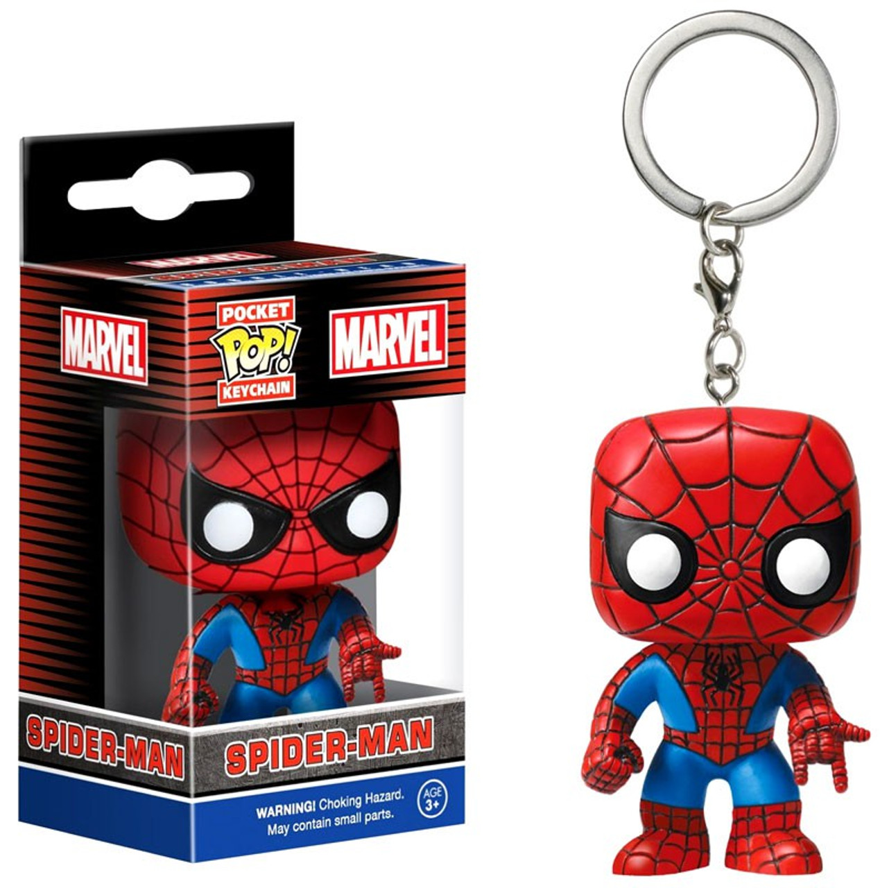 VINYL KEYRING NEW THE AMAZING SPIDER-MAN POCKET POP OFFICIAL MARVEL COMICS