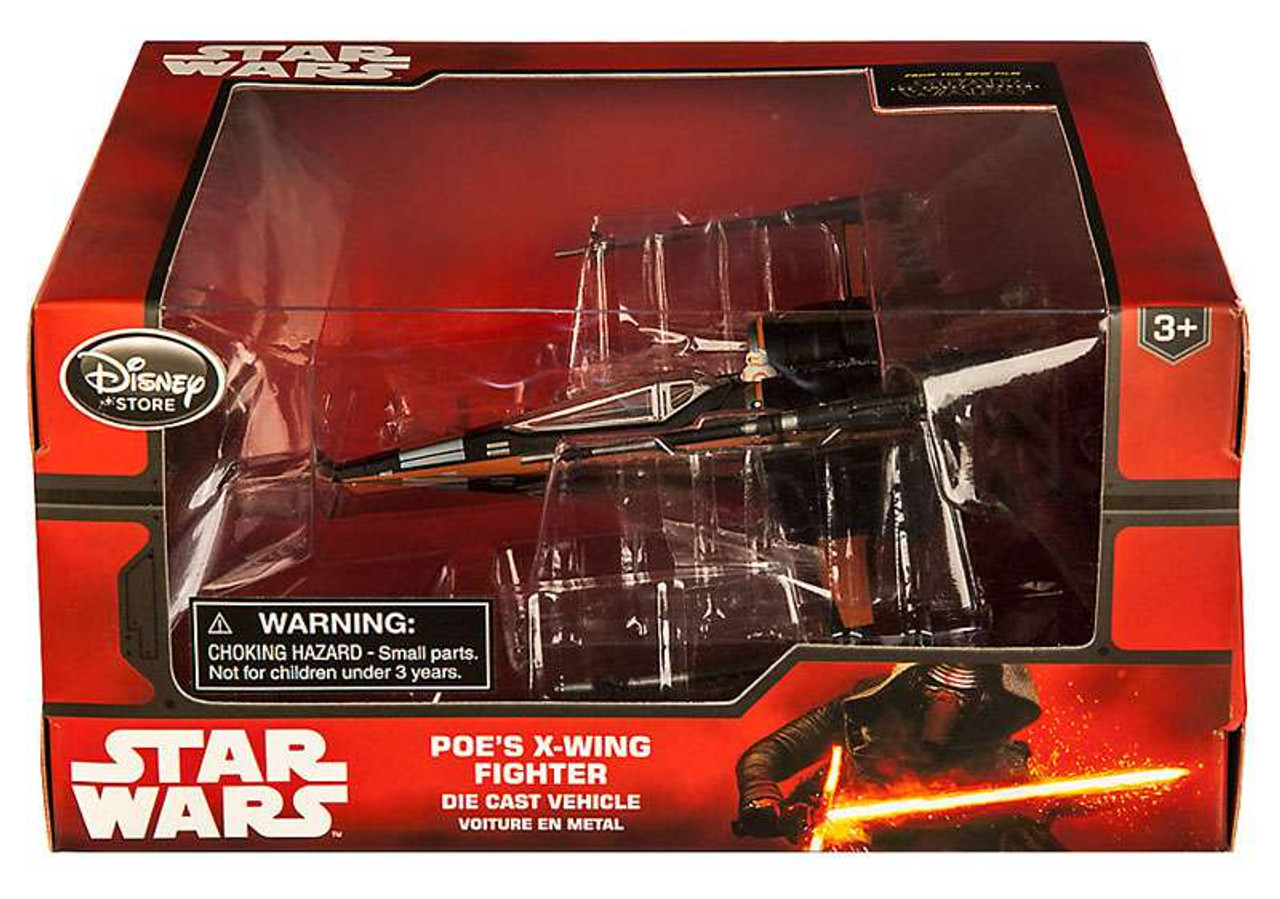 Disney Star Wars The Force Awakens POE DAMERON X Wing 3.75