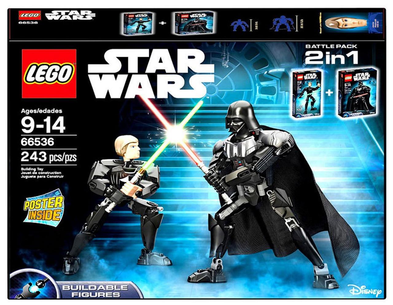 LEGO STAR WARS 2016 Poster ~ LUKE /& DARTH VADER NEW