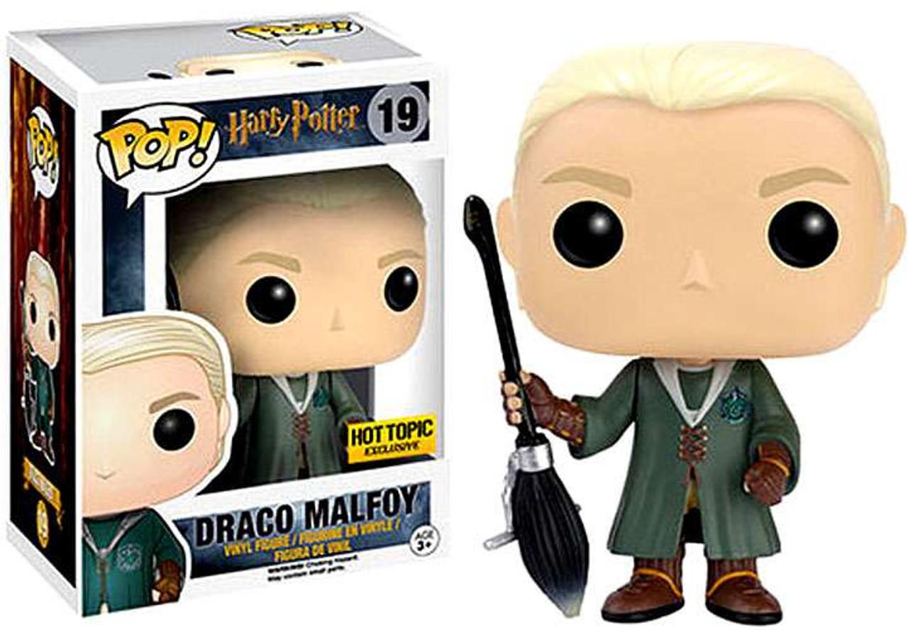 34e51ff53c1 Funko Harry Potter Funko POP Movies Draco Malfoy Exclusive Vinyl Figure 19  Broomstick - ToyWiz