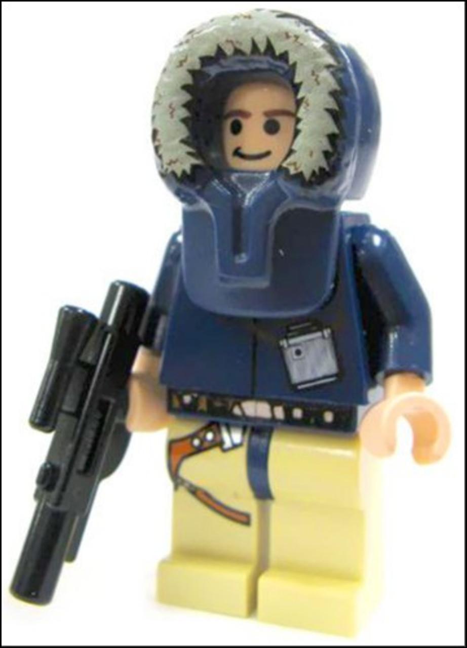 HAN SOLO ~ Star Wars ~ NEW Lego Parts ~ Lego ~ Mint Minifigure