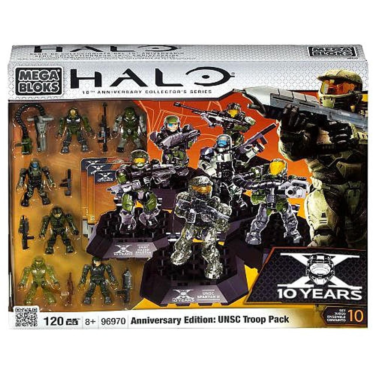 HALO Mega Bloks Collector/'s Edition Pack UNSC Spartan Air Assault