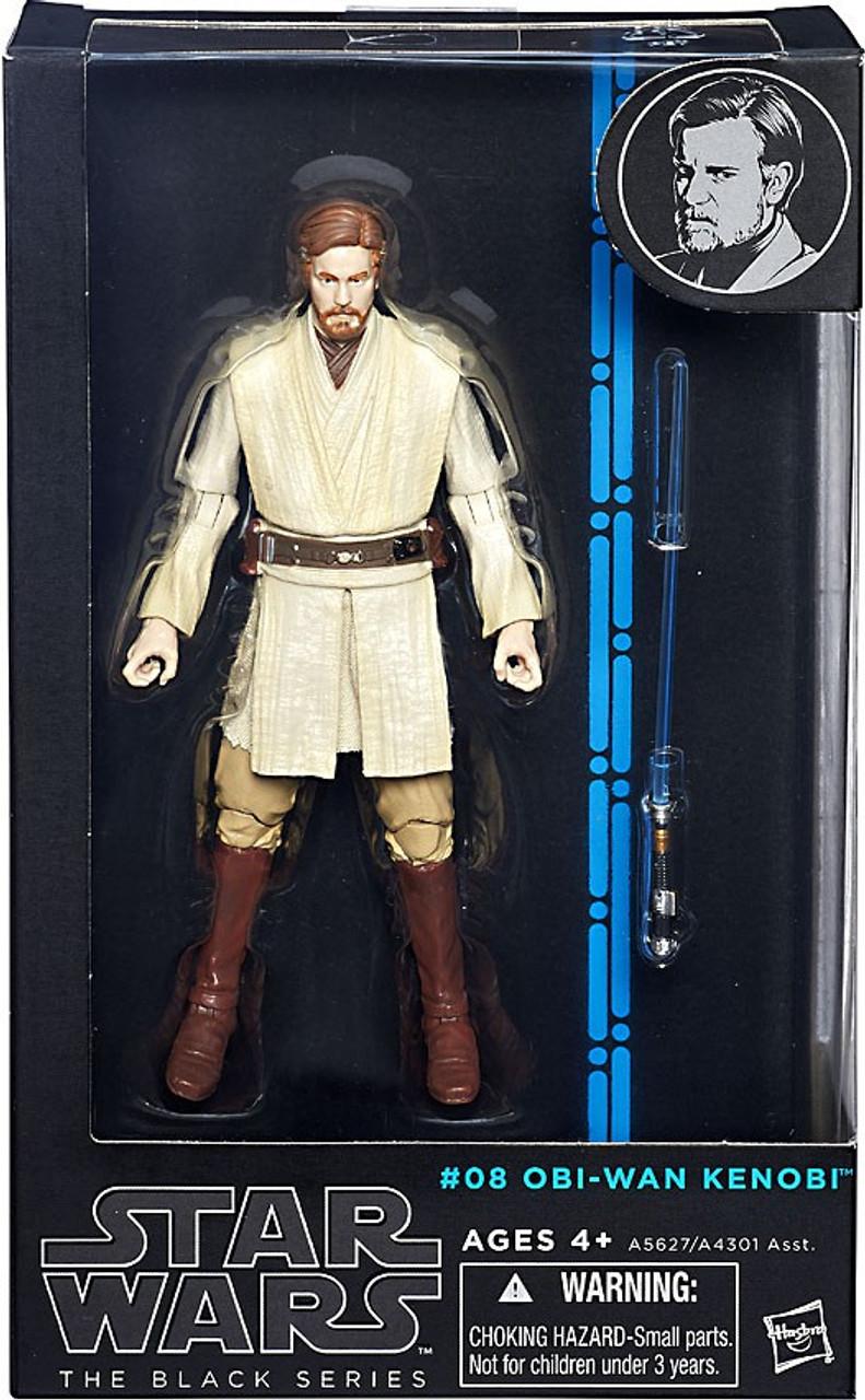 Star Wars Revenge Of The Sith Black Series Wave 6 Obi Wan Kenobi 6 Action Figure 08 Hasbro Toys Toywiz