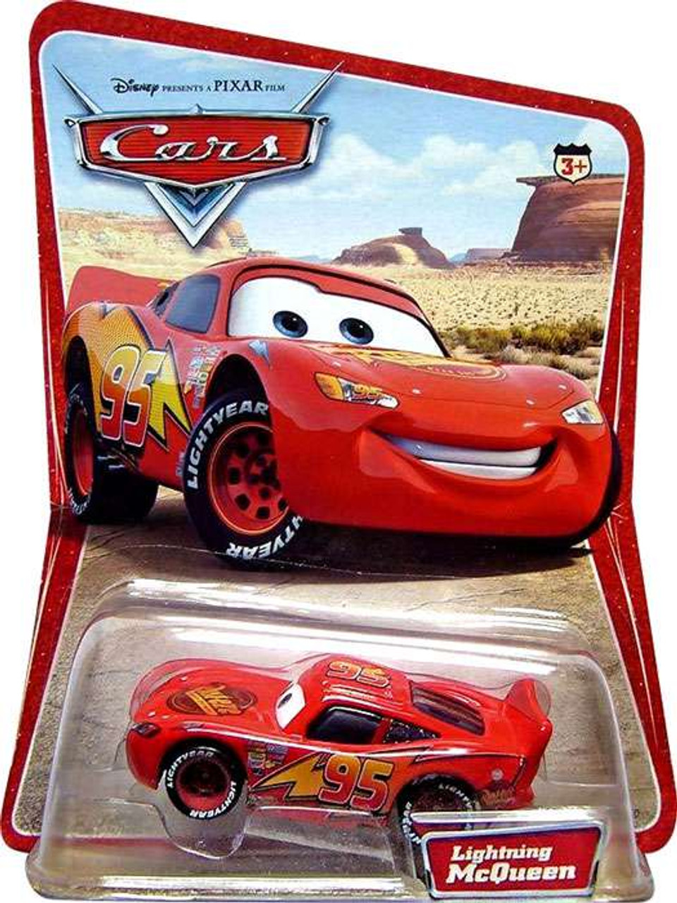 Disney Pixar Cars Series 1 Lightning Mcqueen 155 Diecast Car Mattel