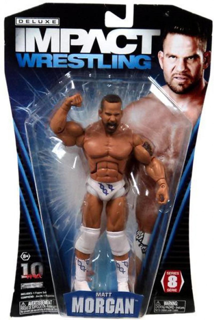 TNA Wrestling Deluxe Impact Series 8 Matt Morgan Action Figure