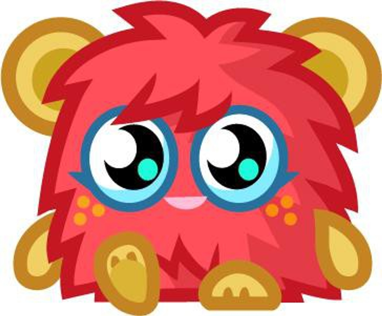 Moshi Monsters Moshlings Series 4 Scarlet OHaira Mini