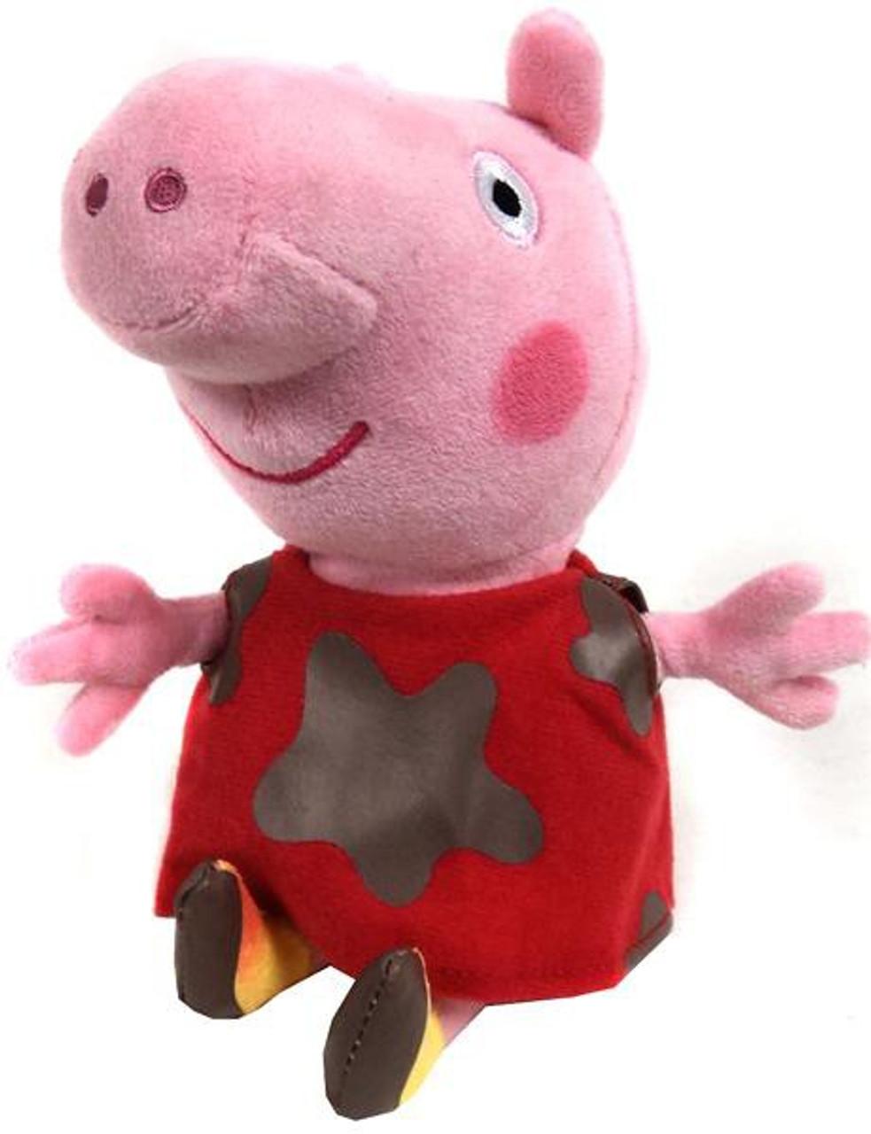 215512e826b Beanie Babies Peppa Pig Muddy Baby Peppa Exclusive Beanie Plush Ty - ToyWiz