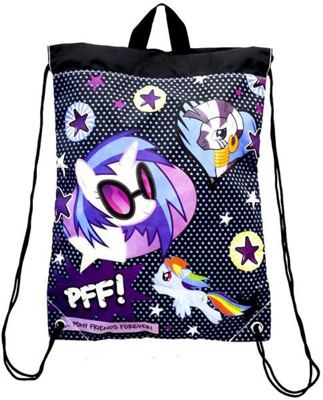7564848d00 My Little Pony Novelties Pony Friends Forever Brony Sling Backpack Fashion  Accessory Bazaar - ToyWiz