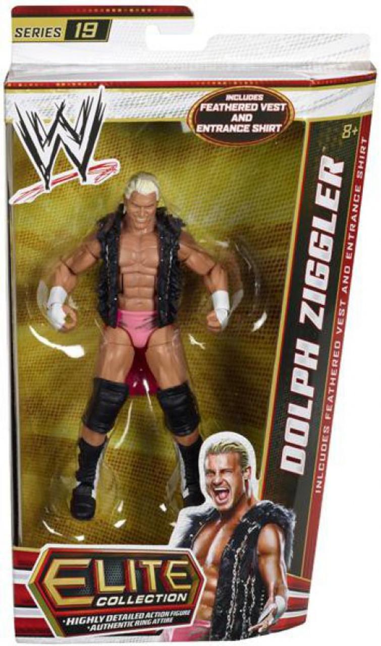 WWE WRESTLING ELITE COLLECTION SERIES 22 DAMIEN SANDOW W//ENTRANCE ROBE /& MIC