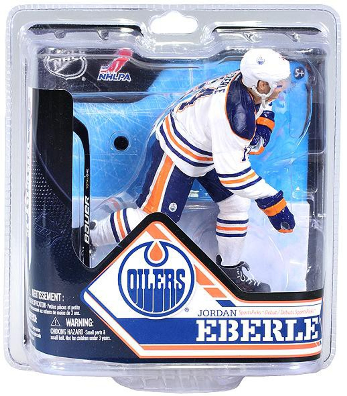 best website 183bc f0925 McFarlane Toys NHL Edmonton Oilers Sports Picks Series 32 Jordan Eberle  Action Figure [White Jersey]