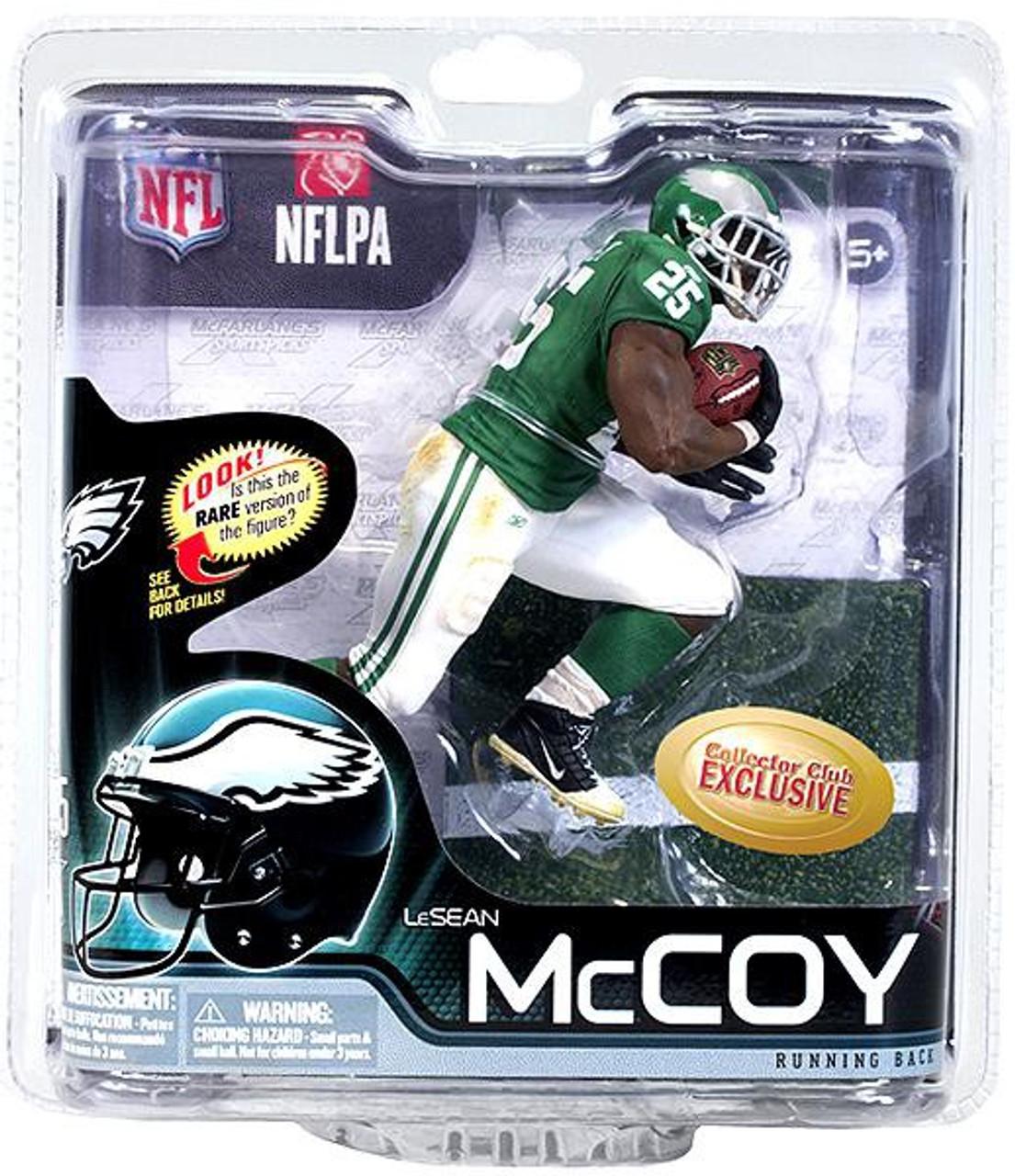 NFL Sports Picks Series 25 LeSean McCoy Action Figure White Jersey