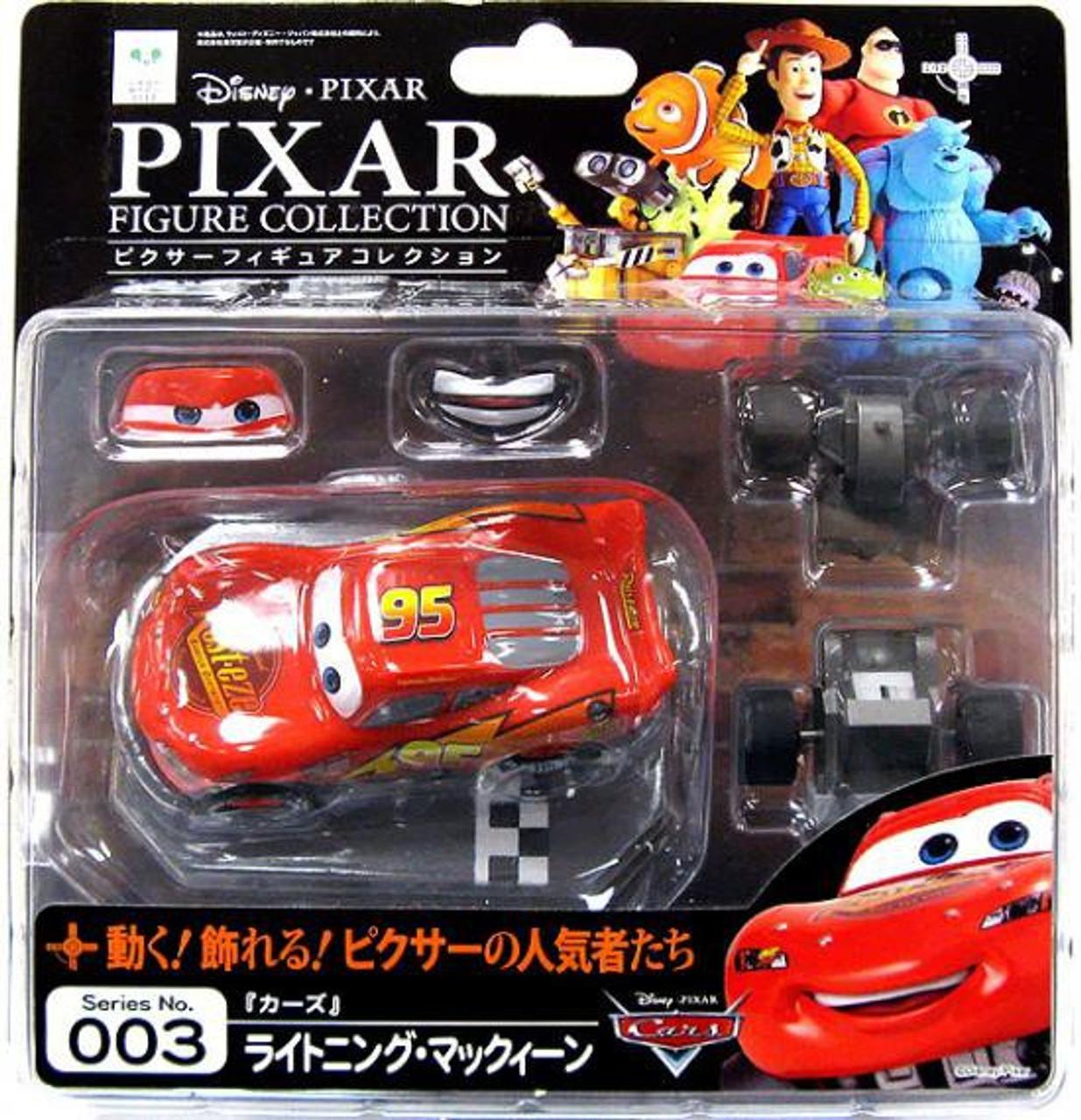 Disney Pixar Cars Revoltech Pixar Figure Collection Lightning