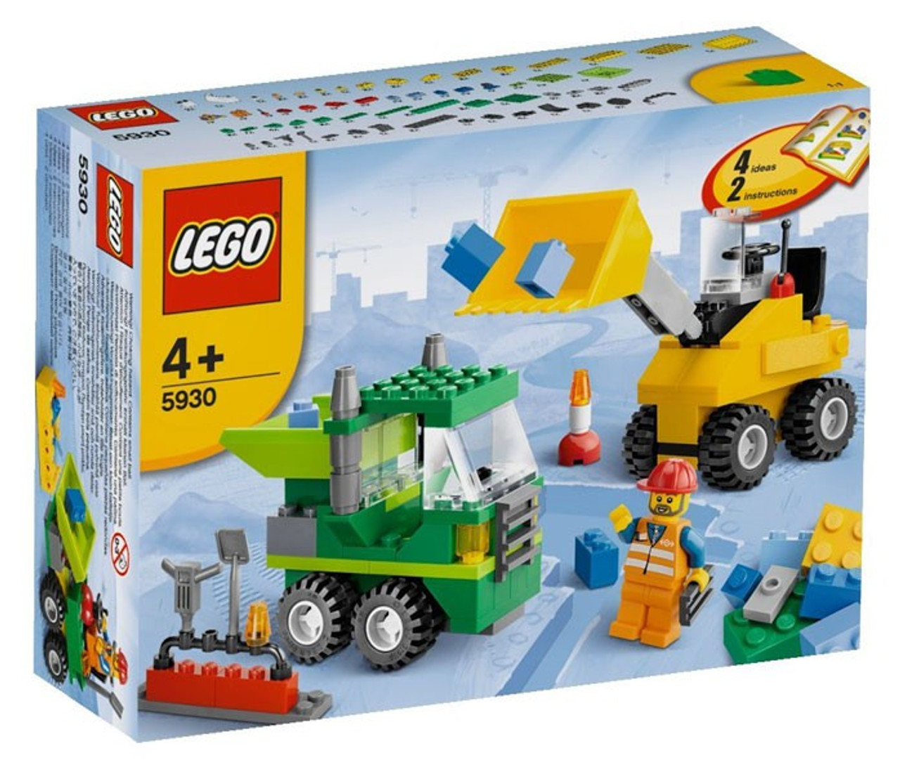 LEGO Road Construction Building Set #5930