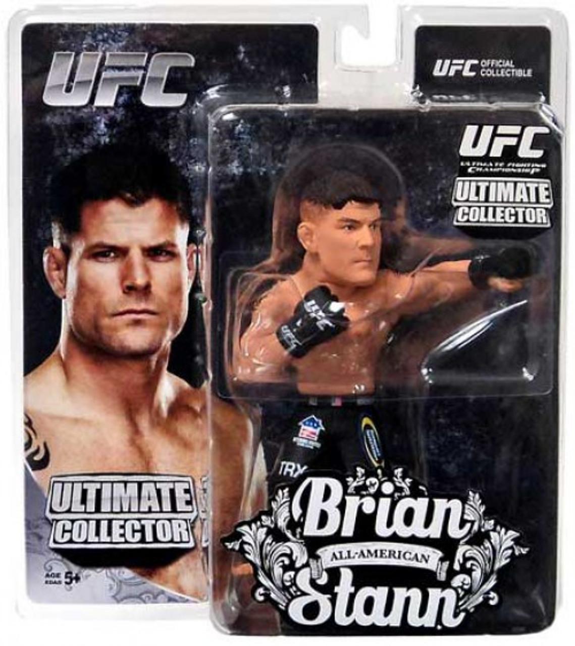 BRIAN STANN ULTIMATE COLLECTORS SERIES 12 REGULAR EDITION ROUND 5 UFC FIGURE