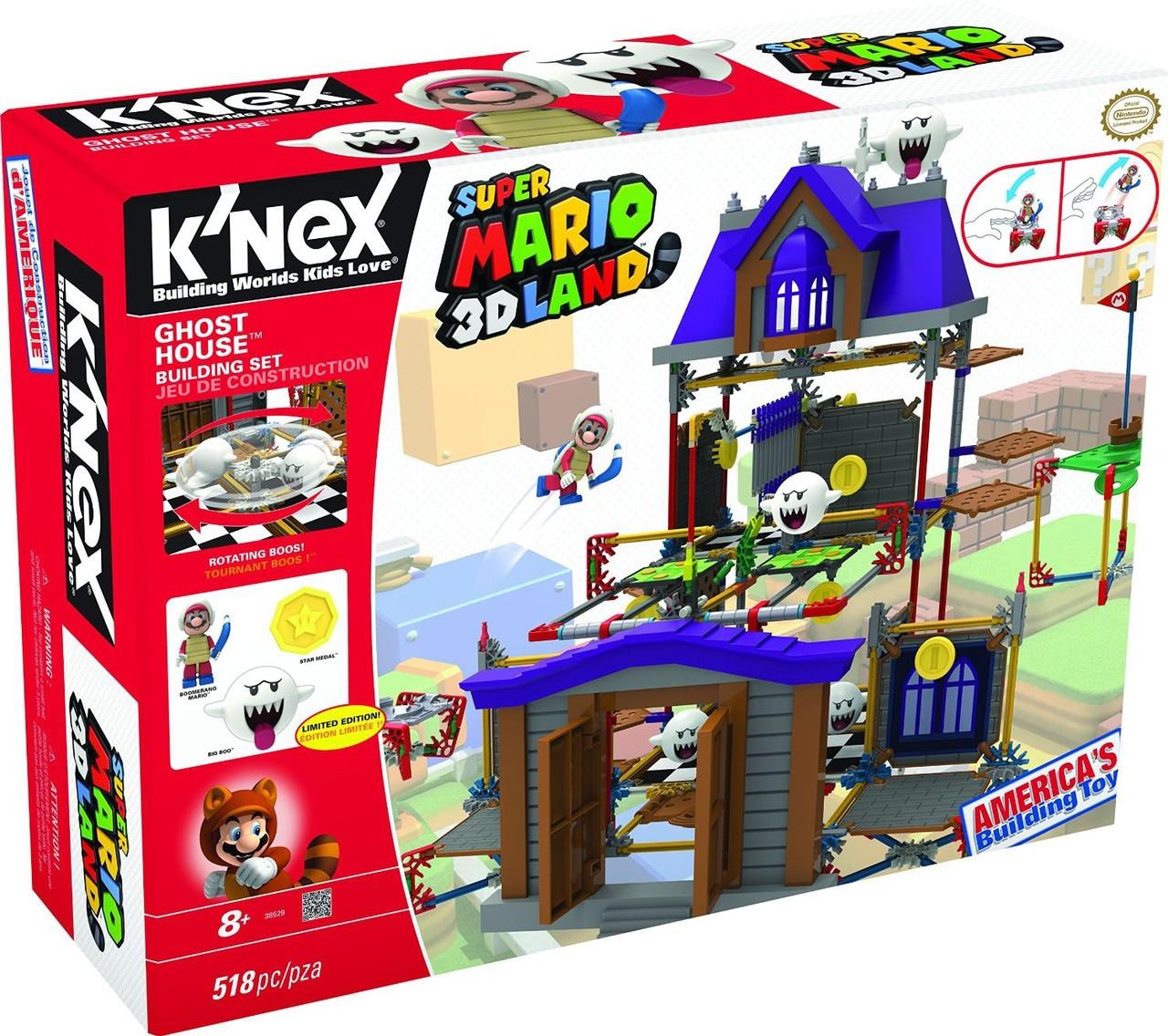 KNEX Super Mario 3D Land Ghost House Set 38529 - ToyWiz