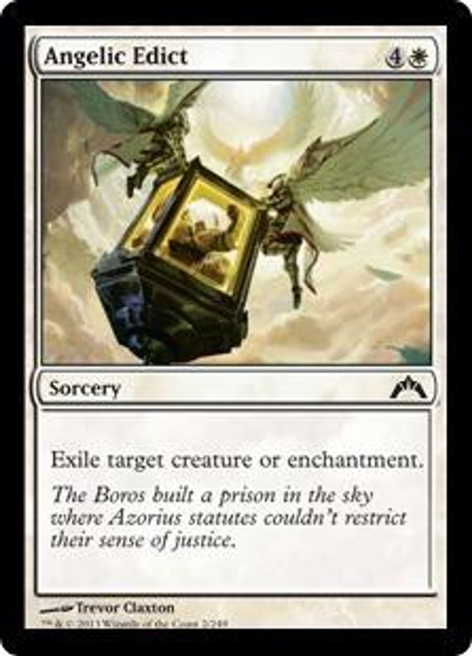 MTG GATECRASH Angelic Edict