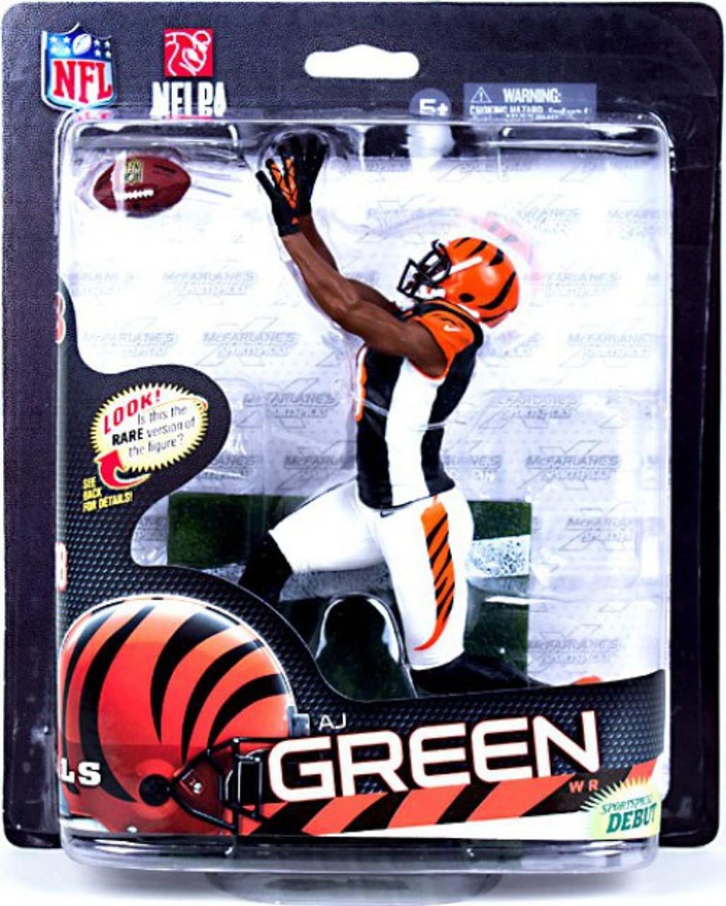 d42e1bd6a McFarlane Toys NFL Cincinnati Bengals Sports Picks Series 33 AJ Green  Action Figure Black Jersey - ToyWiz