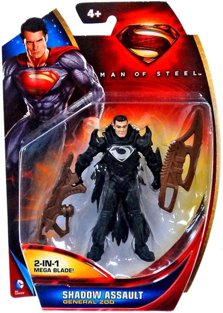 Brand New! Superman Man of Steel Shadow Assault General Zod Action Figure