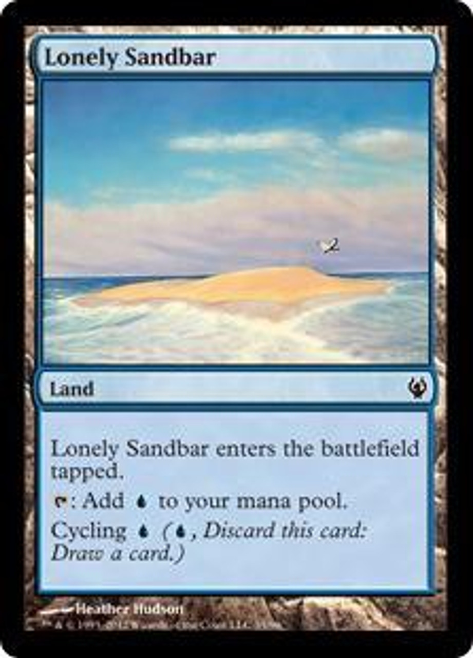 Excellent Condition Lonely Sandbar MTG ONSLAUGHT