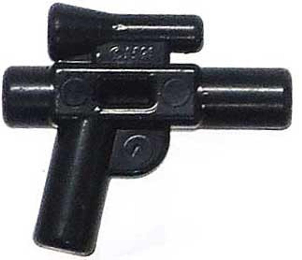 Lego Sub Machine Gun x 1 Black for Minifigure Pistol Automatic Medium Barrel