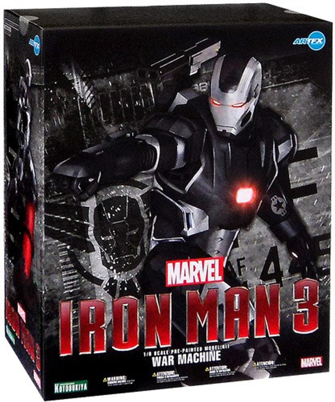 Roblox Iron Man How To Get War Machine Iron Man 3 Artfx War Machine 15 Fine Art Statue Kotobukiya Toywiz