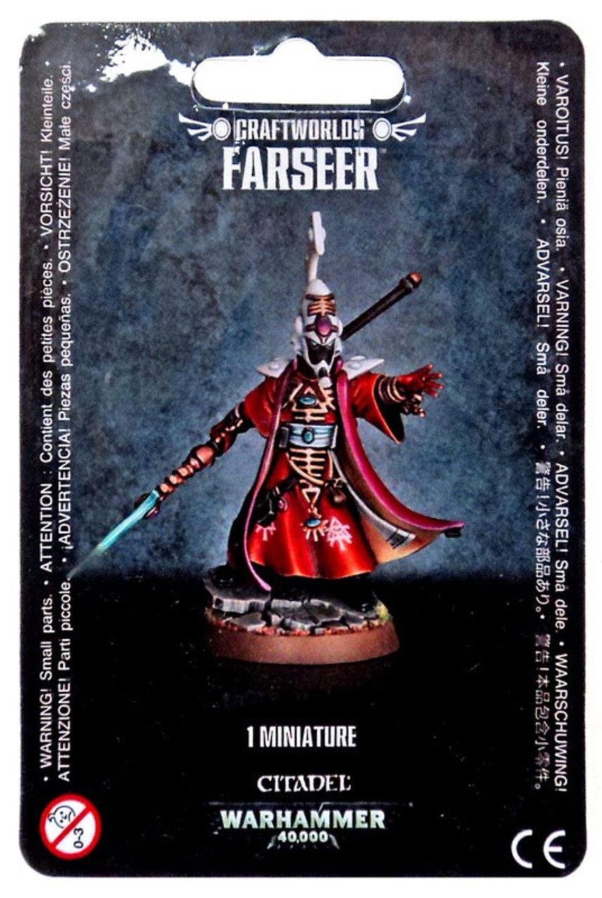 Warhammer 40000 Eldar Craftworlds Farseer Games Workshop