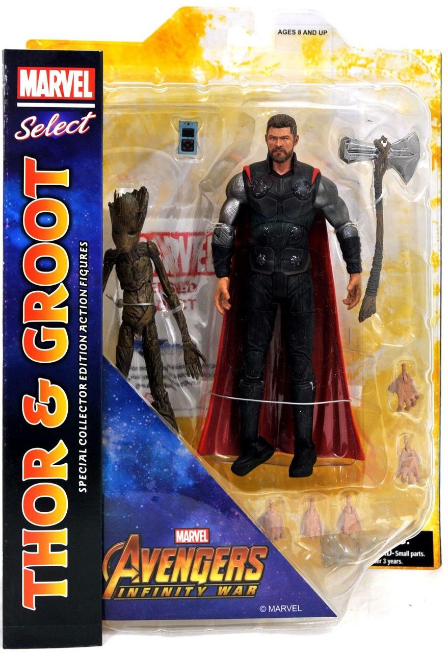 Marvel Select Avengers Infinity War Captain America Figurine Diamond Select