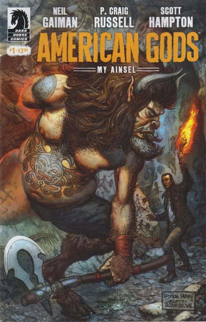 Dark Horse American Gods: My Anisel #1 Comic Book