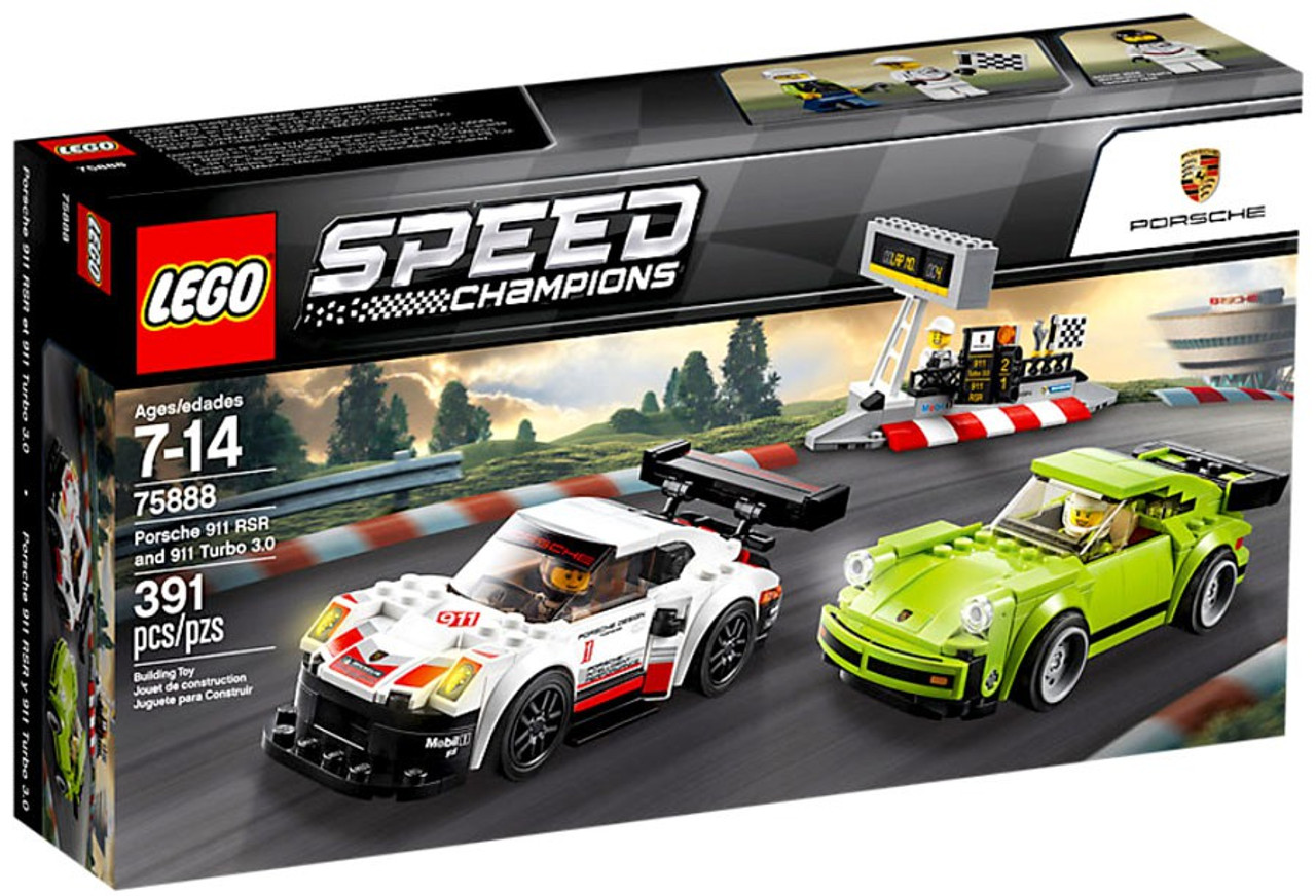 lego speed champions porsche 911 rsr 911 turbo 3 0 set. Black Bedroom Furniture Sets. Home Design Ideas
