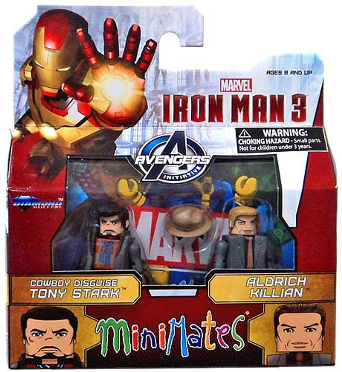 Marvel Minimates Series 49 Iron Man 3 Movie Iron Patriot