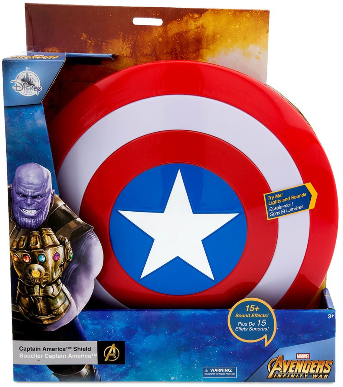Disney Marvel Avengers Infinity War Captain America Shield Exclusive Roleplay Toy - ToyWiz