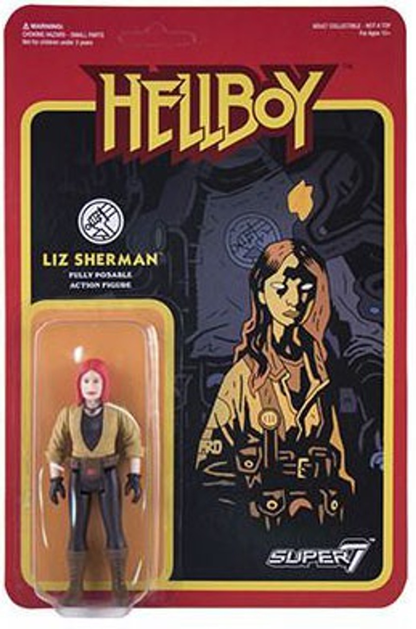 Hellboy 2 The Golden Army Super Nova Liz Action Figure Translucent Blue